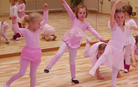 Kindertanz in Eckernförde - Tanzstudio Bömer